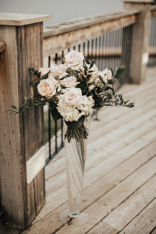 Tall Wedding Flower Centrepieces - Winnipeg Wedding Florists