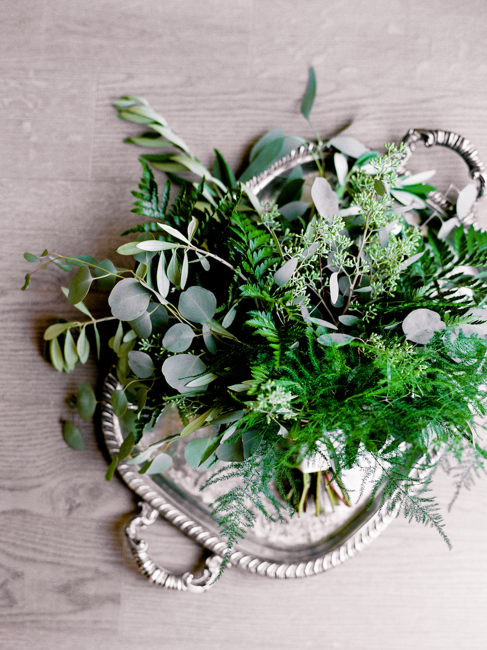 Greenery Wedding Bouquet - Wedding Flowers Winnipeg