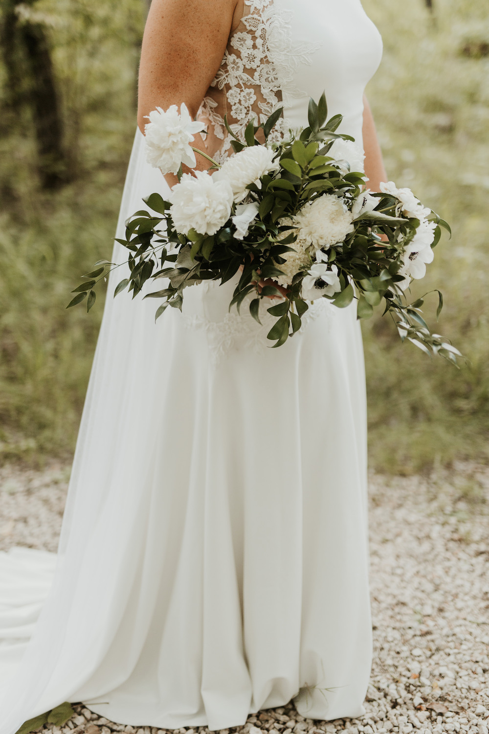 Moody Greenery Wedding Ideas - Winnipeg Wedding Florist
