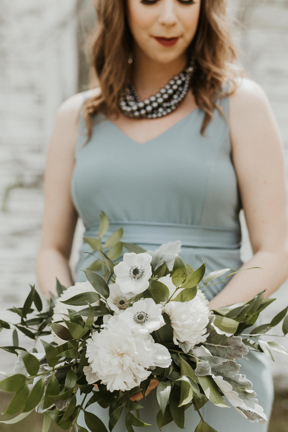 White and Green Wedding Flowers - Winnipeg Florists