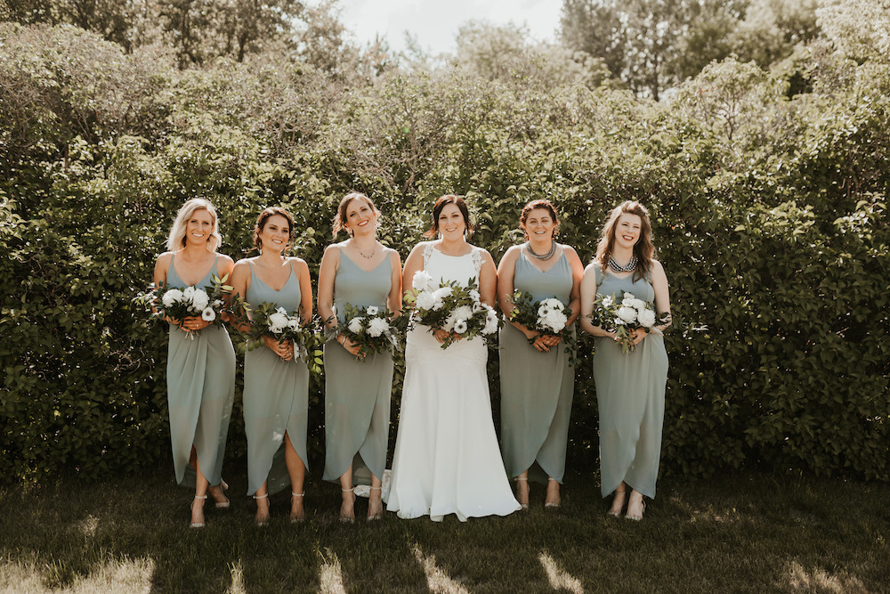Moody Greenery Wedding - Cielo's Garden Weddings