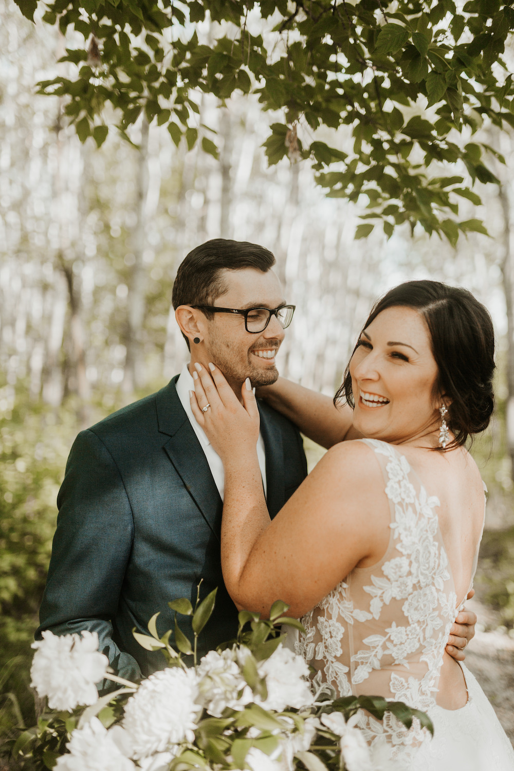 Moody Greenery Wedding - Winnipeg's Top Wedding Florist