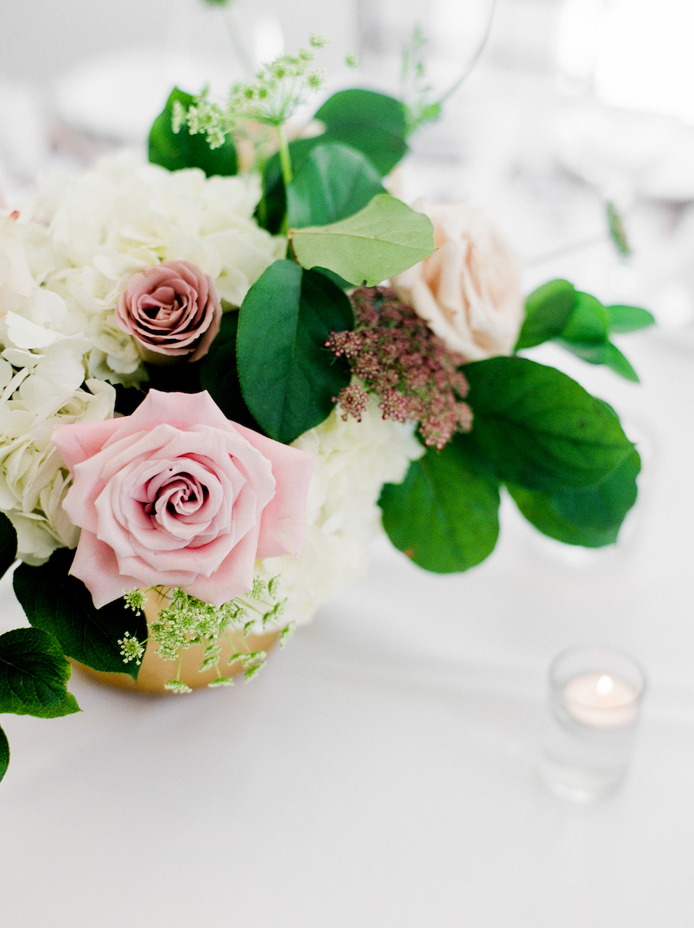 Blush and Cream Wedding Flowers Winnipeg - Wedding Decor and Event Design