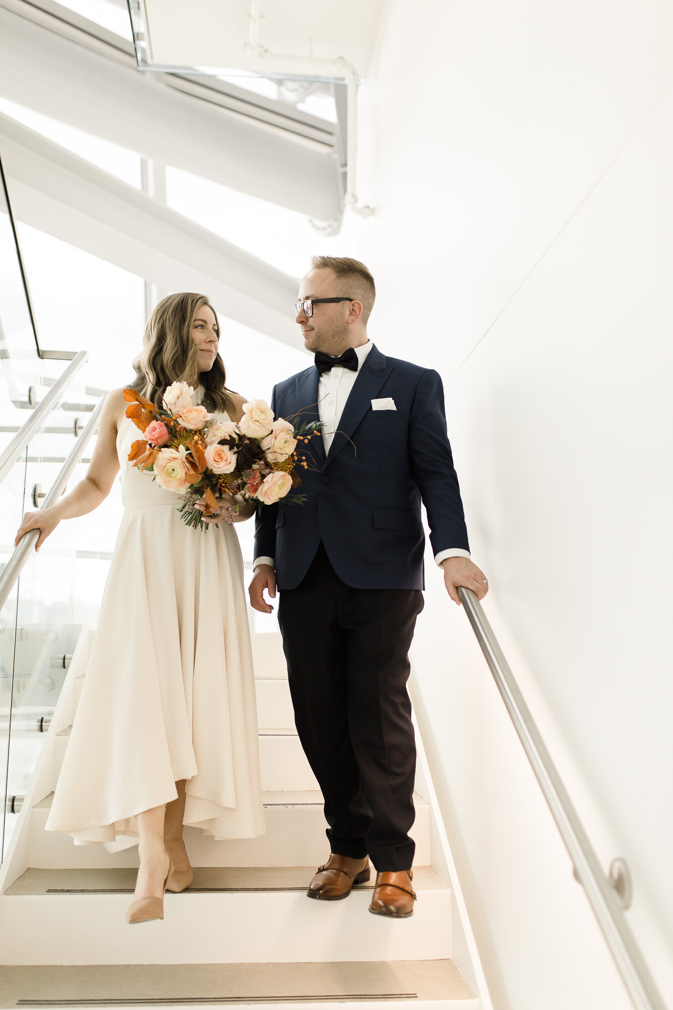 Fall Wedding at Deer + Almond - Winnipeg Wedding florist
