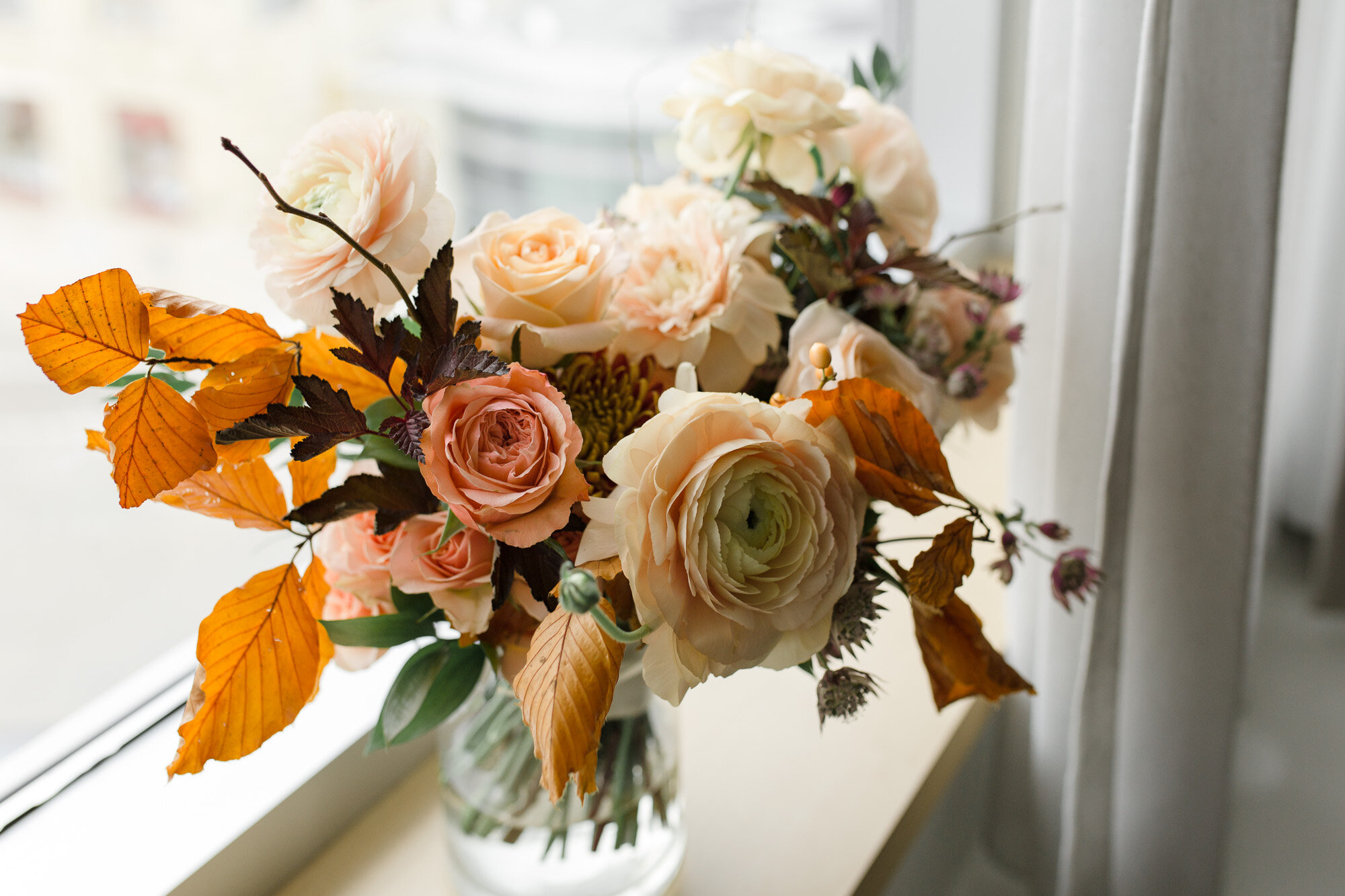 Fall Bridal Bouquet - Wedding Flowers in Winnipeg