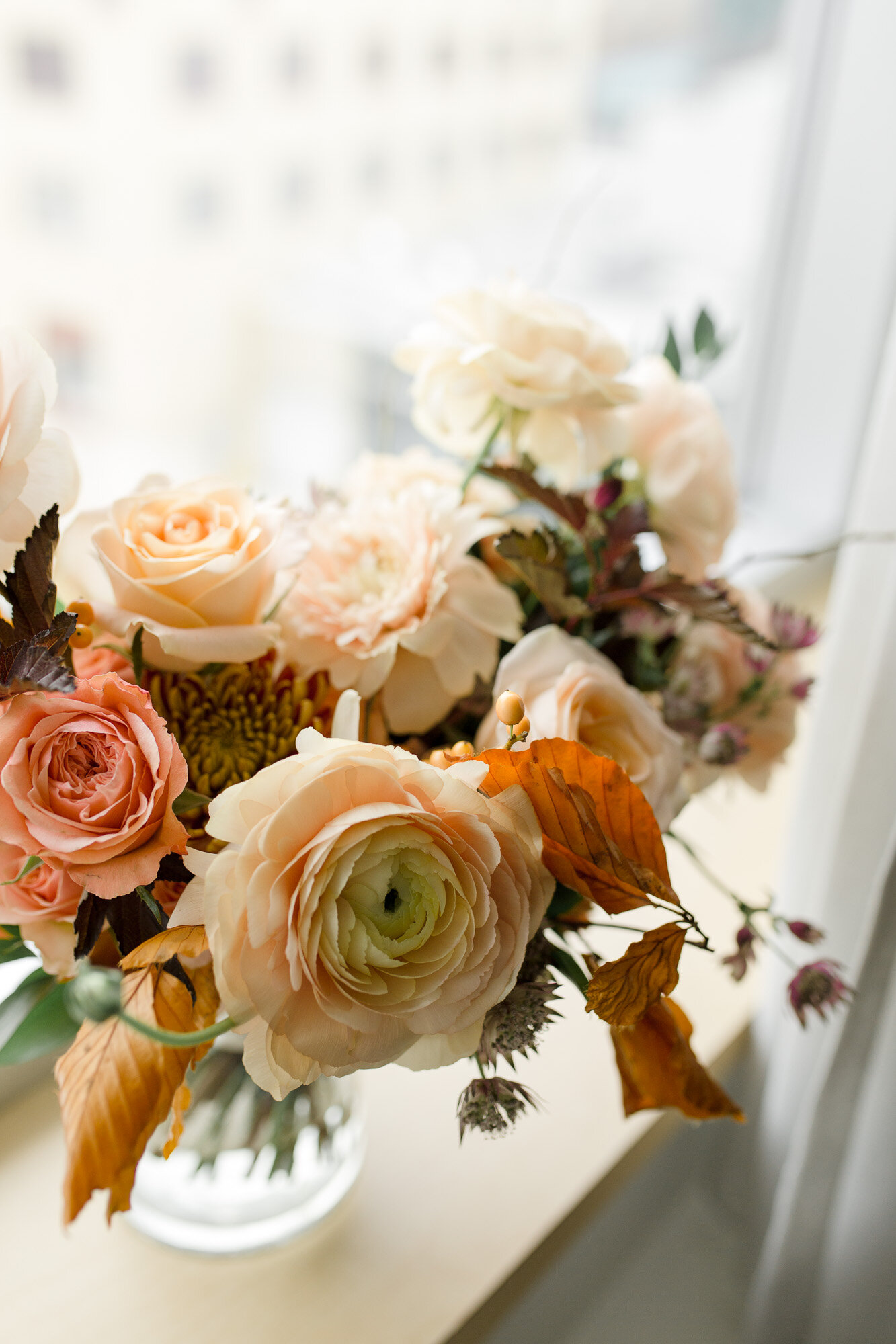 Fall Wedding Bouquet - Stone House Creative