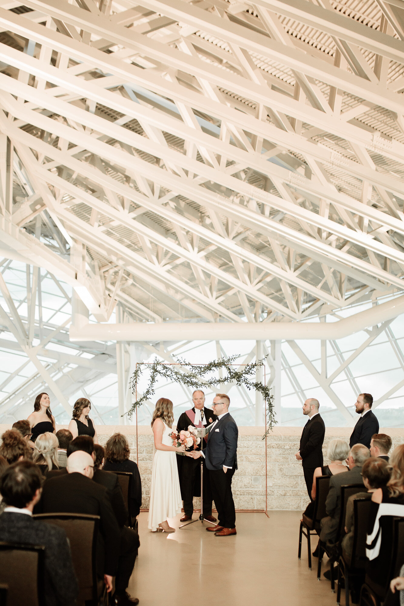 Wedding at Human Rights Museum - Stone House Creative