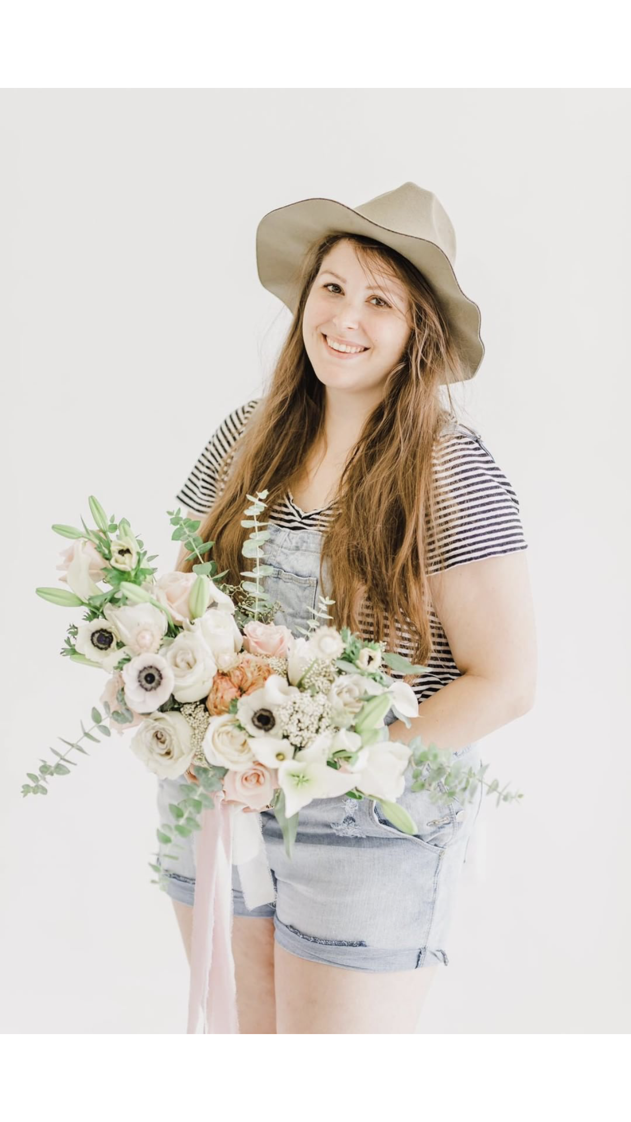 Amanda Bowman - Owner of Amanda Bee's Floral Designs