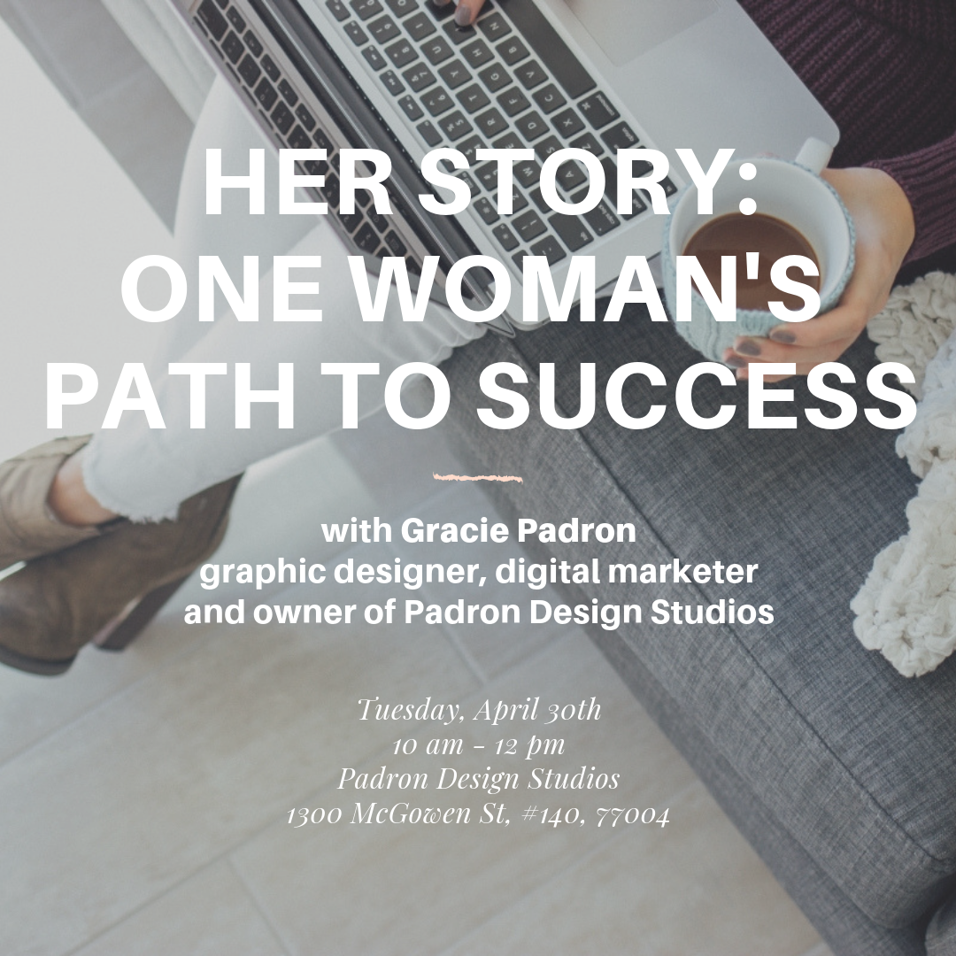 Sesh Coworking Her Story with Gracie Padron, Padron Design Studios