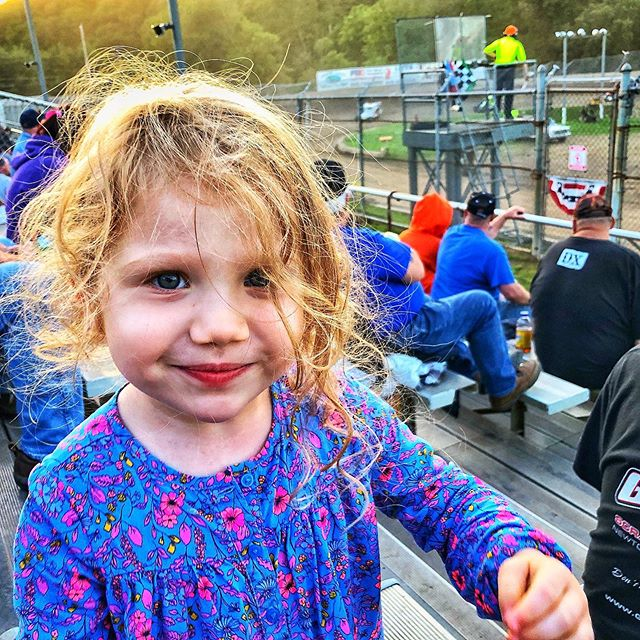 Friday night light at our local dirt track. #daisyjeanshear
