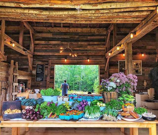 One of the best farm stand offerings I have seen. Just beautiful. The proprietors here give so much respect to the produce.  #hudsonvalley