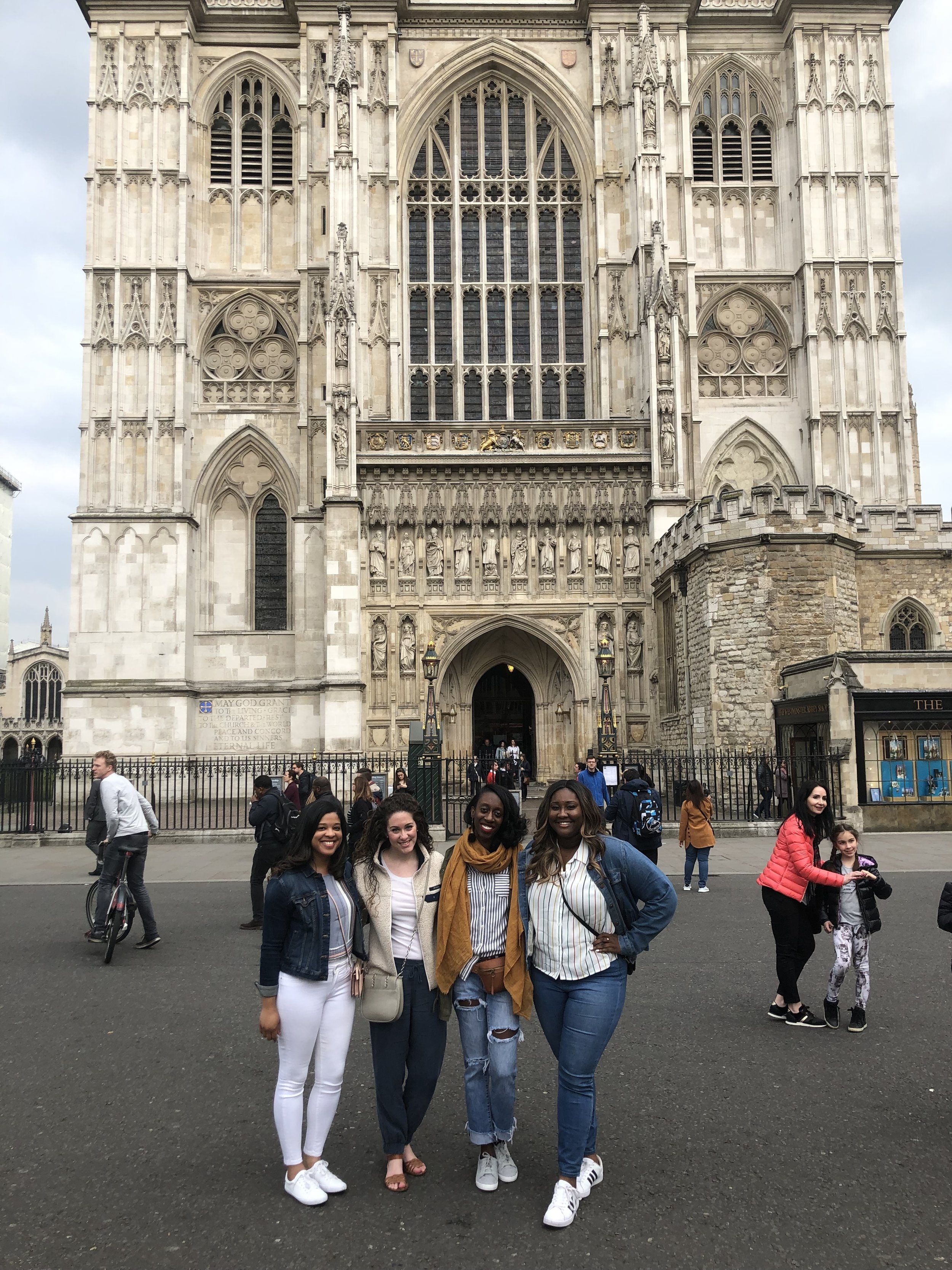 Friends at Westminster!