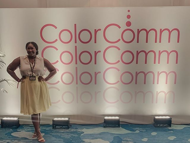 @colorcomm....thank you for existing. I can't begin to say how excellent these last 24 hours have been! Excited for the remainder of the conference #C2Miami #colorcommslay
