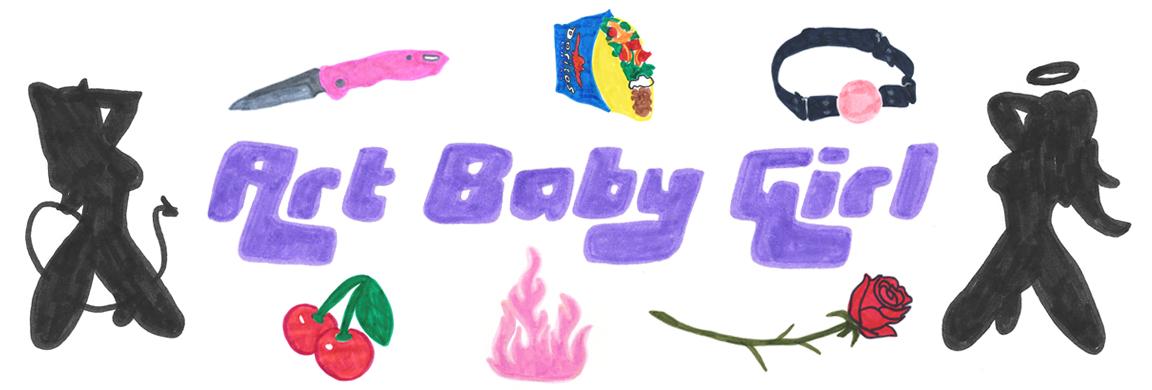 ART BABY GIRL X CREATURE OF HABIT