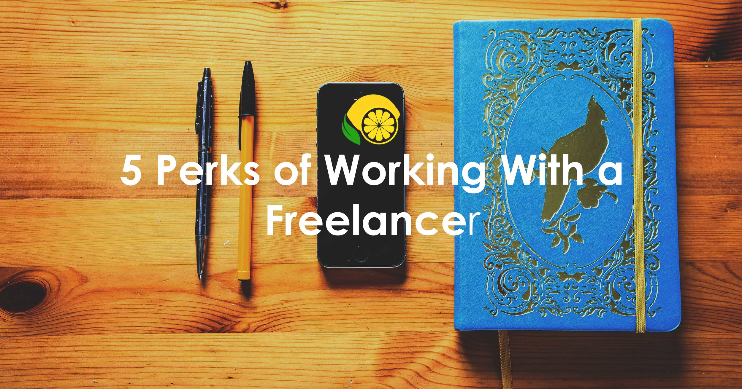 5 Perks of Working with a Freelancer