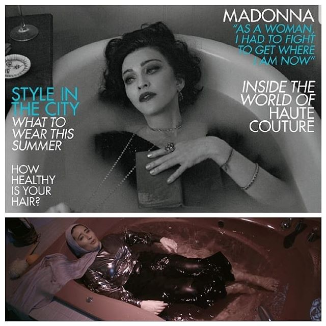 We would just like to say that we thought of it first (actually we have no proof) .  This basically puts us @madonna and @voguemagazine on the same level right?