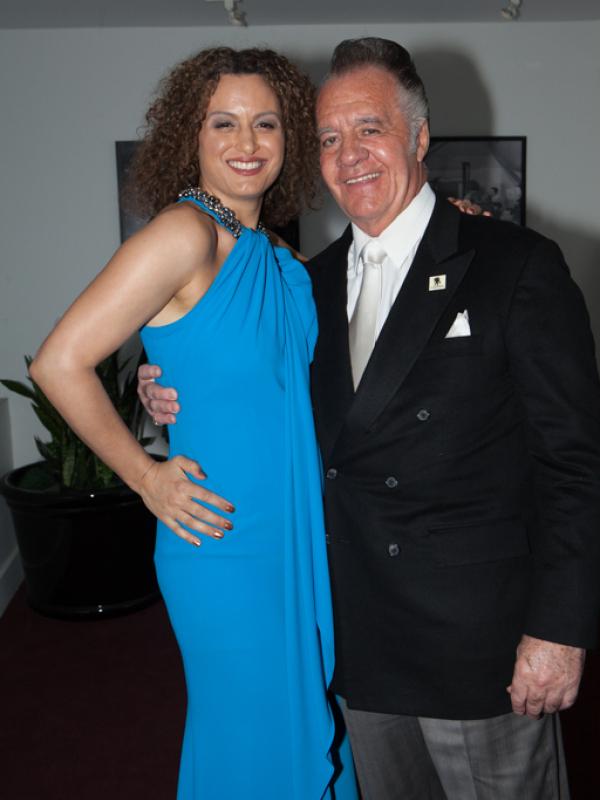 Lucia Grillo & Tony Sirico   NYCIFF 2015