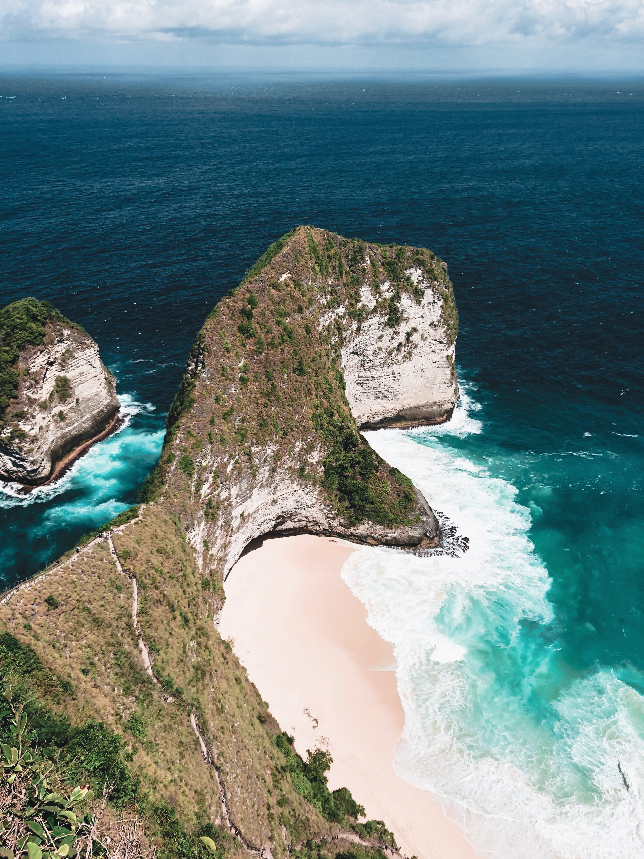 Kelingking viewpoint, Nusa Penida, Indonesia