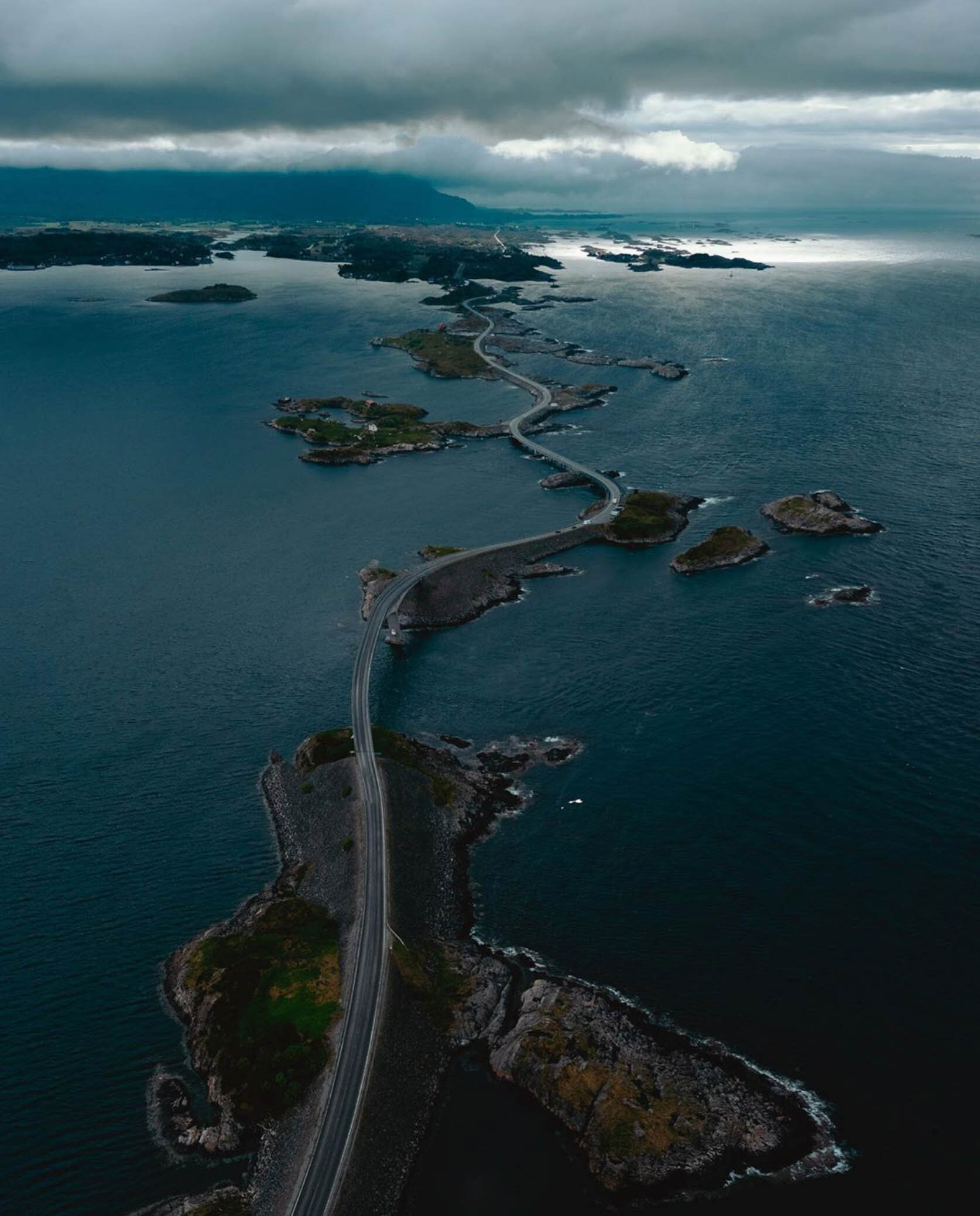 The Atlantic Ocean Road in Norway