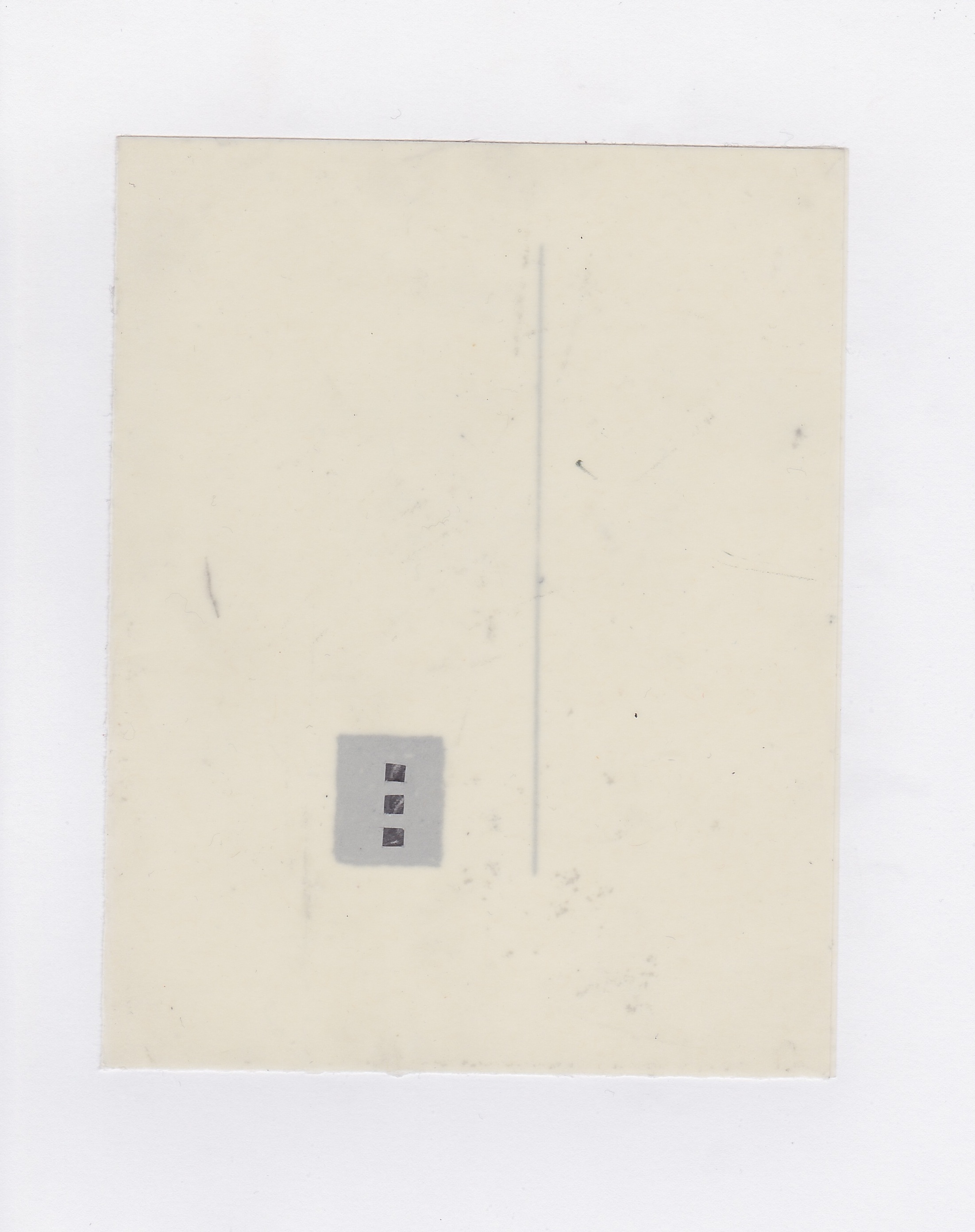 Untitled (the city, observations 15A)  Pencil on oiled fabriano paper. (15A 2 x layered)  140mm x 180mm  December 2013