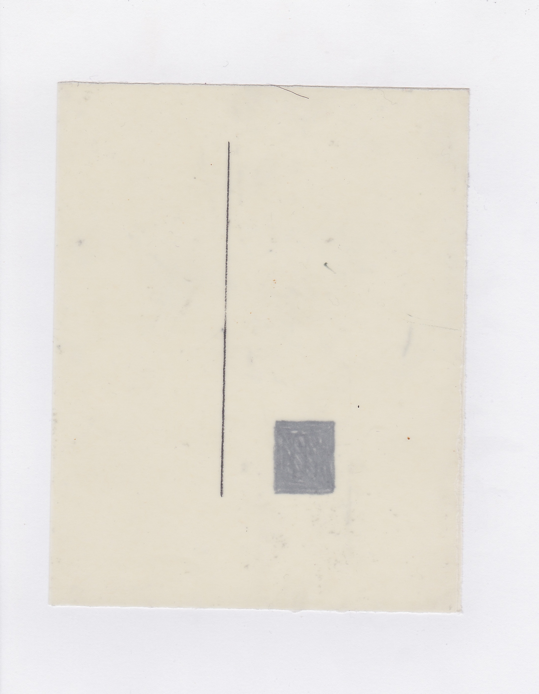Untitled (the city, observations 15A)  Pencil on oiled fabriano paper. (15B)  140mm x 180mm  December 2013