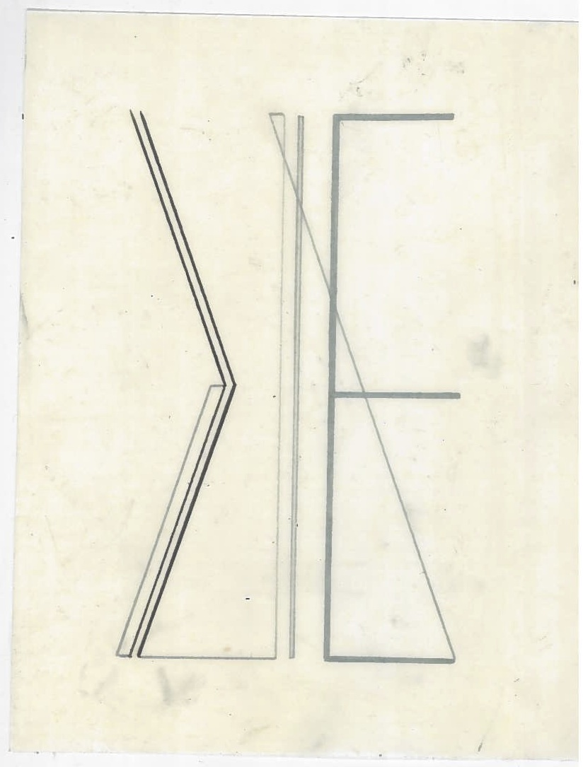 Untitled (the city, observations 01)  Pencil on oiled fabriano paper.  140mm x 180mm  December 2013.