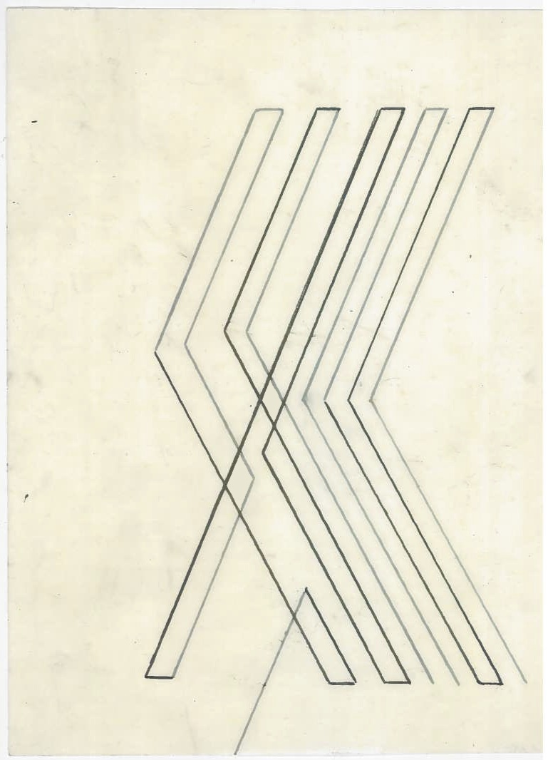 Untitled (the city, observations 02)  Pencil on oiled fabriano paper.  140mm x 180mm  December 2013.