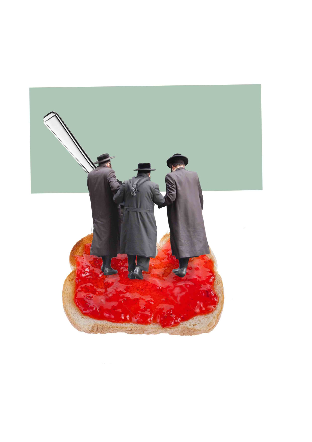 'Three jews on jam on toast' - Chloe Dowsett 04//08//2015