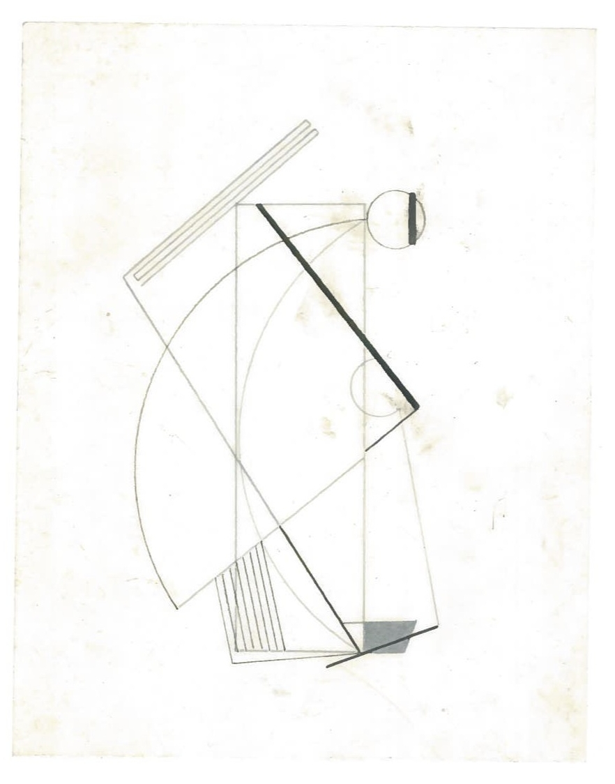 Sequential Architecture (the city, observations 27A)  Pencil on oiled fabriano paper  140mm x 180mm  NY, December 2013