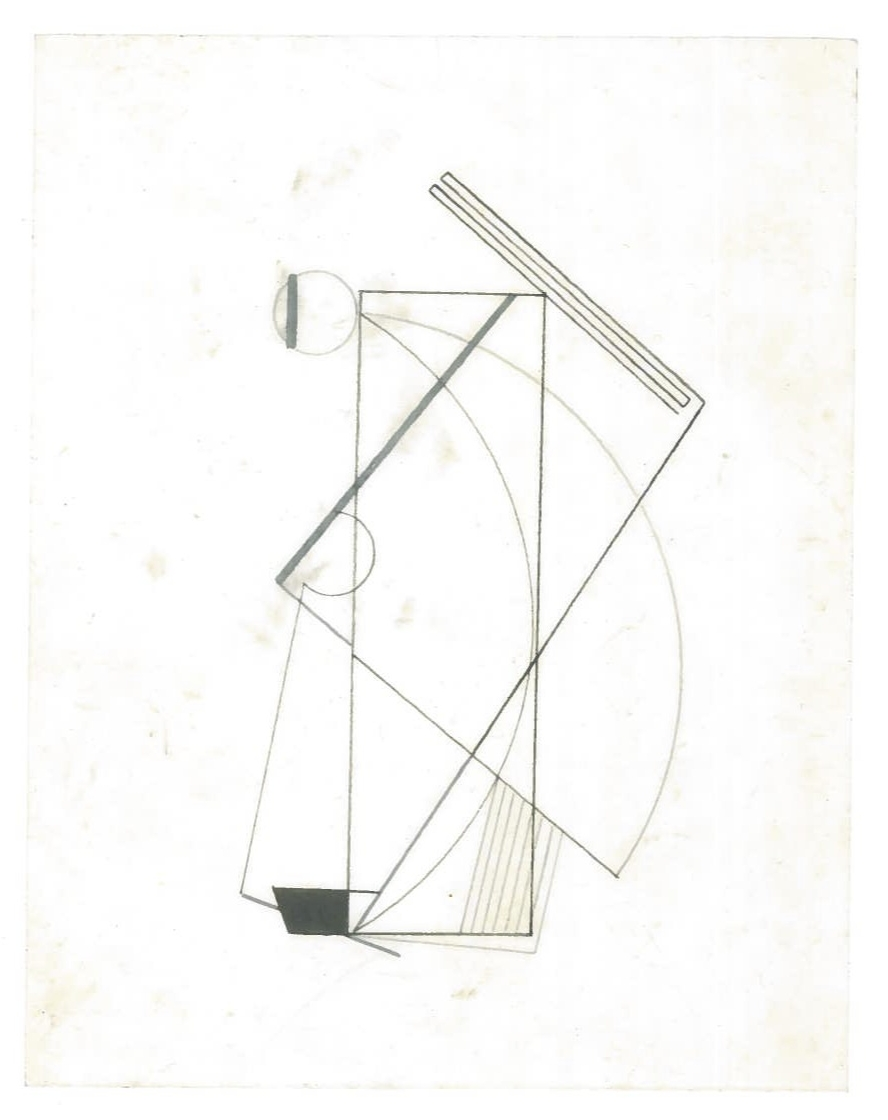 Sequential Architecture (the city, observations 27B)  Pencil on oiled fabriano paper  140mm x 180mm  NY, December 2013