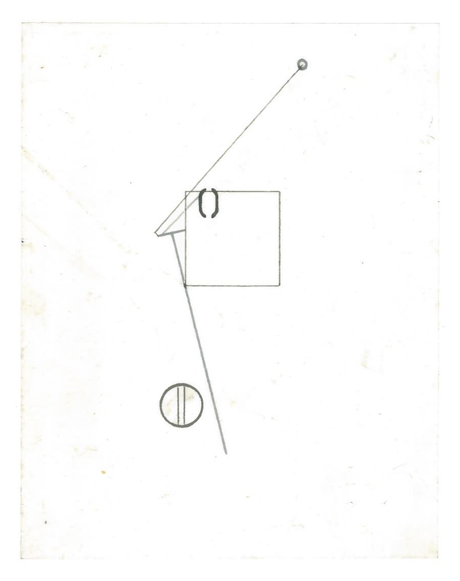 Sequential Architecture (the city, observations 31A)  Pencil on oiled fabriano paper  140mm x 180mm  NY, December 2013
