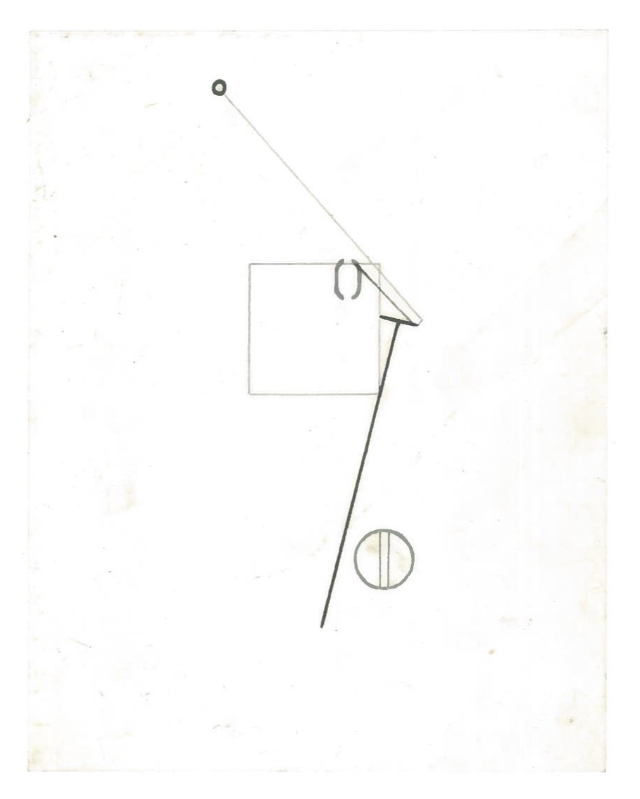 Sequential Architecture (the city, observations 31B)  Pencil on oiled fabriano paper  140mm x 180mm  NY, December 2013