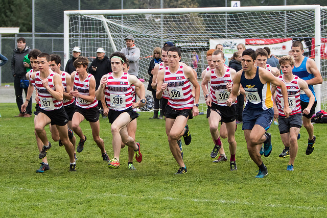 BC Club Cross Country Championships. (2016)