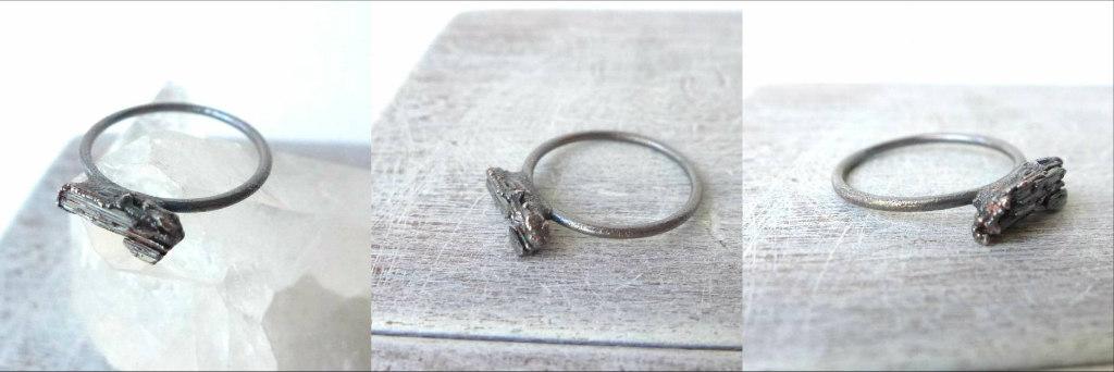 Dark Patina Copper Jewelry