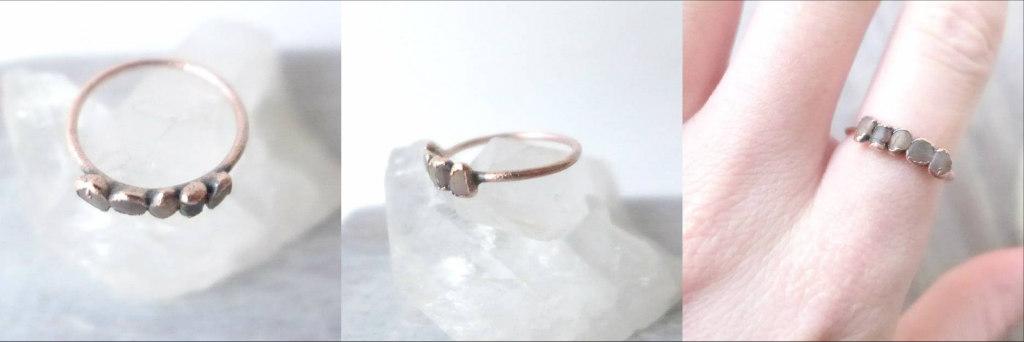 Oxidizing Copper Jewelry