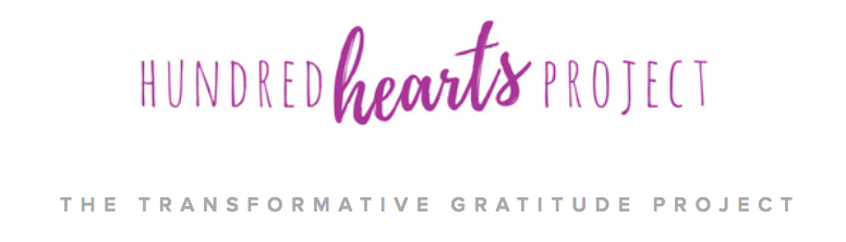 Hundred Hearts Project is infusing the power of gratitude into our lives - one connection at a time.
