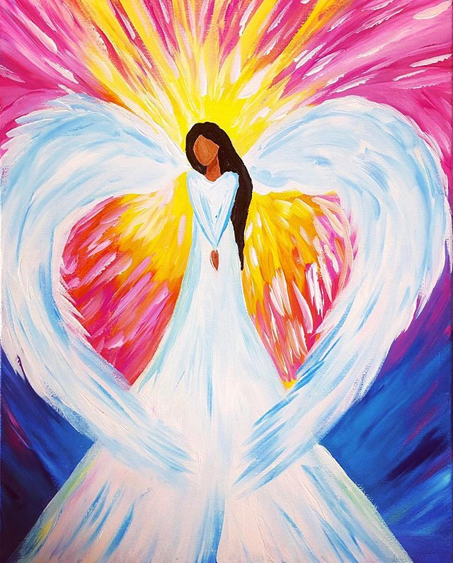 """✨Paint With A Purpose! ✨🎨🖌 A Private Fundraiser Event has just been opened to the public! ✨ Come Paint the """"Hawaiian Angel"""" this Sunday, Oct. 13th at St. Catherine Church's Coyle Hall in Kapaa. ✨$100 per ticket 〰️ for a very good cause that will help a young lady in our Kauai community battling brain cancer. Also included at the event are food & drinks. Ages 13+ welcome to attend. 〰️RESERVE TICKETS〰️ by Calling or Texting the Fundraiser Organizer, Kela Caspillo at 808-652-6173. . . . . . . #paintdrinkcreate #paradisepalette #artnight #kauaiart #kauiaartist #paintandsip #sipandpaint #aloha #kauaievents #kauaiactivities #lethawaiihappen #luckywelivekauai #luckywelivehawaii #kauai #hawaii #travelkauai #travelhawaii #fundraiser #support #ladiesnight #girlsnight #dosomethingdifferent #letloose #giveback #enjoylife #therapeutic #kauaicommunity #kauaihawaii #kapaa #paintwithapurpose"""