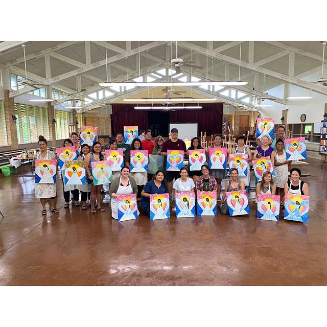 ✨What a Great Turnout for such a Great Cause! ✨ Big Mahalos to Kela Caspillo for putting together a wonderful fundraiser event at @stcatherineschoolkauai and to everyone who attended! 🖌🎨✨ . . . . . . #paintdrinkcreate #paradisepalette #artnight #kauaiart #kauiaartist #paintandsip #sipandpaint #aloha #kauaievents #kauaiactivities #lethawaiihappen #luckywelivekauai #luckywelivehawaii #kauai #hawaii #travelkauai #travelhawaii #datenight #gno #ladiesnight #girlsnight #dosomethingdifferent #letloose #havefun #relax #enjoylife #therapeutic #havealohawilltravel #kauaihawaii #painting