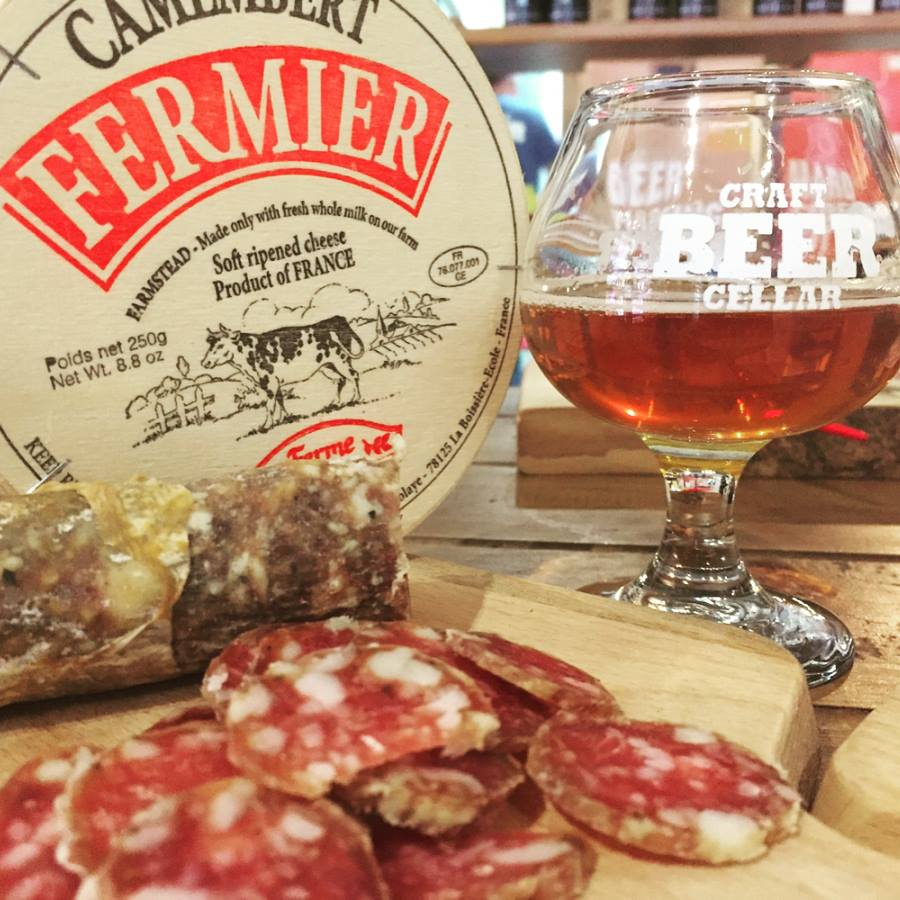Craft Beer Cellar and Cheese