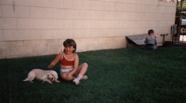 Me around age 8