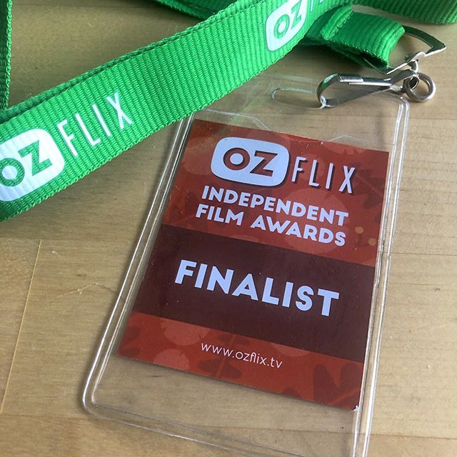 A finalist but no cigar for QUANTA at the @ozflixtv awards last night. 'Twas a fun night celebrating Australian independent filmmaking.