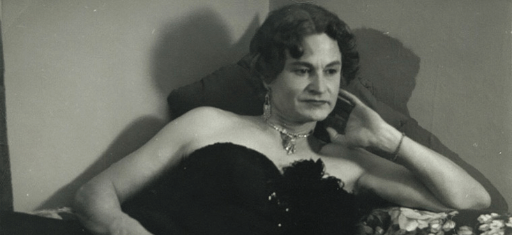 Virginia Prince, circa 1954. Virginia Prince was one of the earliest transgender activists.