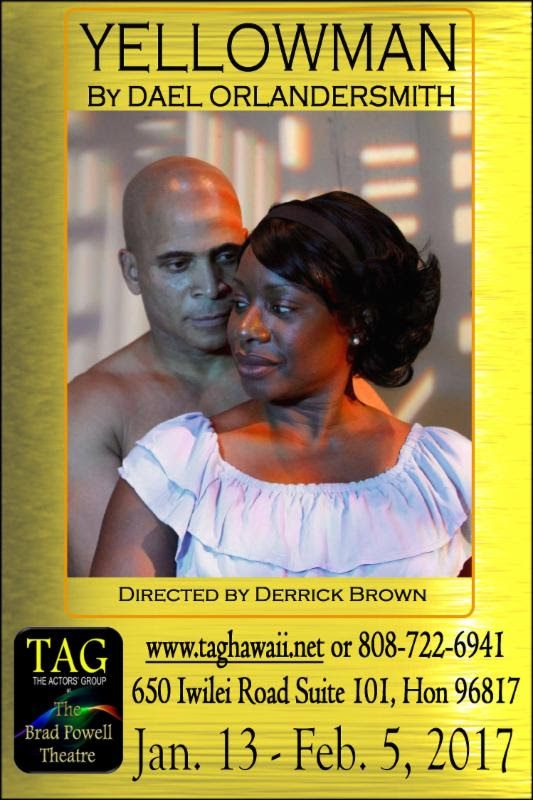 Curtis Duncan and Wendy Pearson in TAG's  Yellowman .