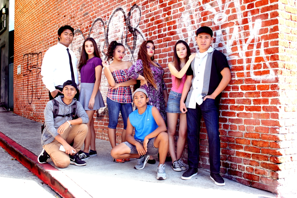 Top row, from left: Ernor Sewell-Welle, Toshiko Davidson, Liza Marie Corotan, Leimomi Herrell, Megan Boggs, and Matteo Mortera. Bottom row, from left: Darian Aquino and Adrian Aguinaldo