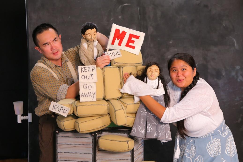 Alvin Chan and Jocelyn Ishihara in HTY's 'Home'. Photo credit: Brad Goda