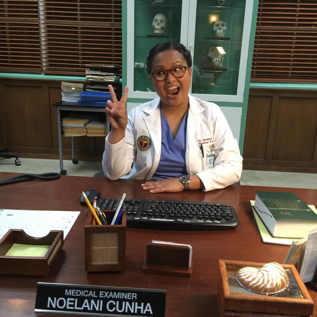 "Kimee Balmilero as Dr. Noelani Cunha, ""Hawaii Five-0"""