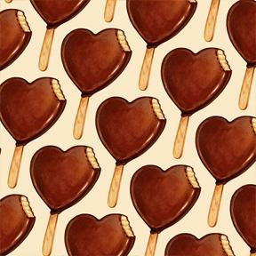 Heart Ice Cream