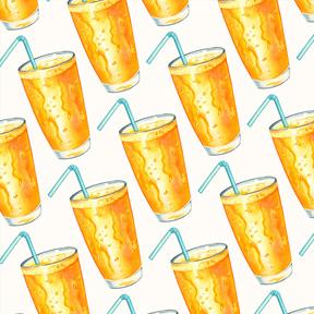 Orange Juice - White