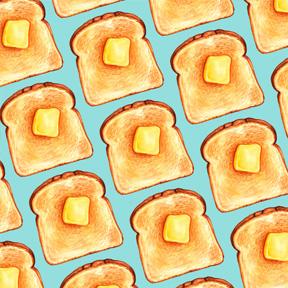 Toast - Blue