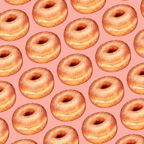 Sugar Donut - Pink